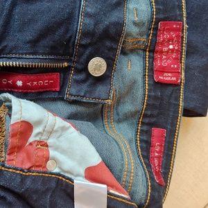 Lucky Brand Leyla skinny distressed Jean